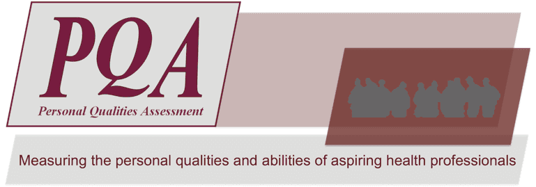 PQA - Measuing the personal qualities and abilities of aspiring health professionals